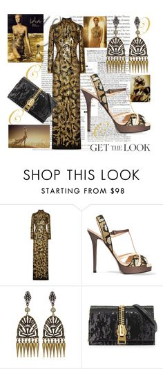 """Get the Look: Met Gala 2016"" by greenacres1124 ❤ liked on Polyvore featuring Roberto Cavalli, Fendi, Tom Ford, GetTheLook and MetGala"