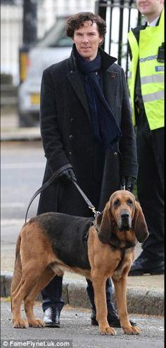 Setlock - Benedict 26th April 2016 Miss you soooo much Sherlock!