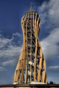 Unusual Buildings, Modern Buildings, Beautiful Buildings, Futuristic Architecture, Amazing Architecture, Architecture Design, Dome Structure, Timber Structure, Architectural Engineering