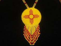 native american necklace sun necklace by deancouchie on Etsy