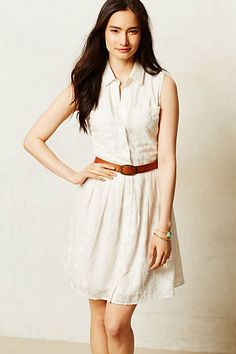 Joussard Lace Shirtdress
