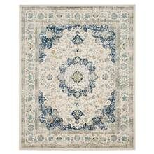 Safavieh - Contemporary Area Rug in Ivory and Blue