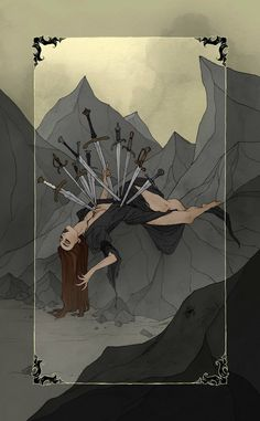ArtStation - The Dark Wood Tarot, Abigail Larson