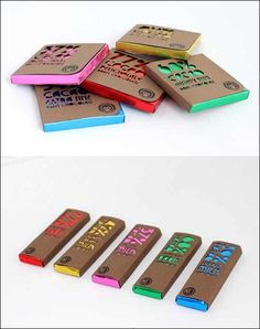 Chocolate Packaging Concept (Student Work)