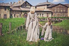 « Archère », la chemise médiévale de lin