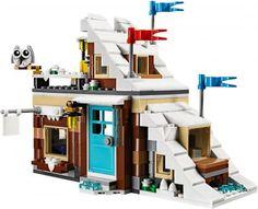 Lego domčeky - Zimné prázdniny Lego Creator, The Creator, Legos, Vacation, Lego, Vacations, Holidays Music, Holidays, Logos