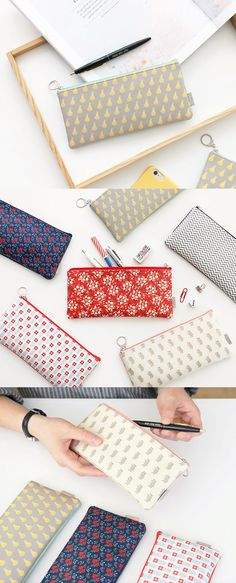 This Slime Pattern Pen Case is a basic pen case to carry your favorite pens! The patterns on the exterior are just soooo lovely and make it a perfect everyday pencil case!