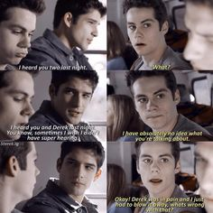 Oh god... Stiles don't deny it