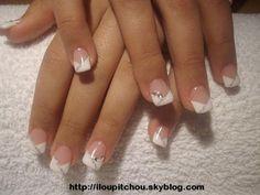 Image - SARAH (2) - Déco d'ongle en gel - Skyrock.com                                                                                                                                                                                 Plus