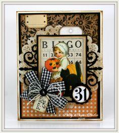 Ginny Nemchak:  Polly's Paper Studio - Not So Spooky Halloween Creativity Kits - 7/20/14