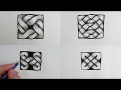See How To Draw 4 more Celtic Knots, step by step, using dots. Subscribe here: http://www.youtube.com/user/circlelinemedia Celtic Knot, Narrated: http://yout...