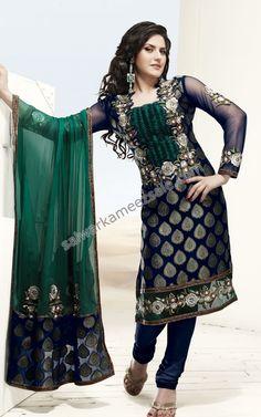 Online Shopping for Indian Dresses & Latest Bridal Wear - Lehenga Choli, Wedding Sarees, Salwar kameez, Sherwani, Ethnic & Modern Outfits and More. Buy Now! Churidar, Salwar Kameez, Indian Wedding Outfits, Indian Outfits, Indian Weddings, Bollywood Outfits, Bollywood Style, Bollywood Fashion, Indian Dresses Online