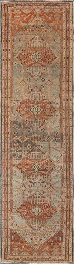 "KEIVAN WOVEN ARTS,   Type :Malayer Origin :Iran  Size : 3'7""x13'1""  Circa :1920"