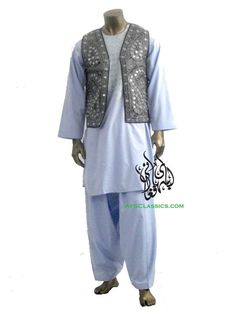 love it when men wear the traditional afghan clothes! so sexy