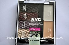 N.Y.C. might be one of the cheapest brands in the make up aisle, but that doesn't mean it doesn't have awesome products. LOVE this eye compact...perfect look every time. I use a small brush to apply the darkest color as a final liner for extra drama. Hot, hot, hot. Love.