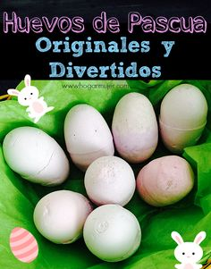 Como hacer tizas en forma de huevos de pascua