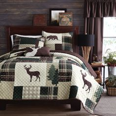 wholeHome®/MD Home 'Lodge' Collection -- my husband would love this bedding-- or maybe for grandpa?