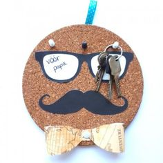 Met dit mini knutselpakketje maak je gemakkelijk je vaderdag kadootje! #vaderdag