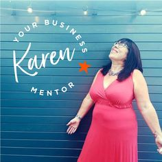 Karen - Your Business Mentor logo with Karen Growing Your Business, Boss Lady, Told You So, Branding Ideas, Formal Dresses, Health, Logo, Fashion, Dresses For Formal