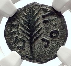Biblical Jerusalem Saint Paul NERO PORCIUS FESTUS Ancient Roman Coin NGC i70644