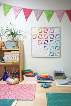 SCHNIG SCHNAG - Quilts and more: Blogger's Quilt Festival {Mini Quilt}
