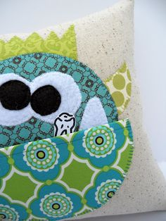 Just Another Hang Up: Manfred Tooth Pillow Pattern