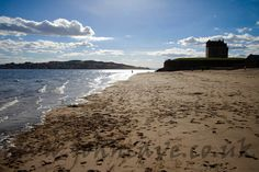 Broughty Ferry Beach and Castle, Dundee, UK