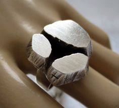STEN & LAINE, Rare Vintage 1973 Modernist Sterling Silver Ring, 12.5 g, FINLAND in Jewelry & Watches, Vintage & Antique Jewelry, Vintage Ethnic/Regional/Tribal   eBay