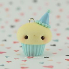 #kawaii #charms #polymer #clay #cute #cupcake #charm