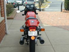 love this rear shot of my R65LS BMW