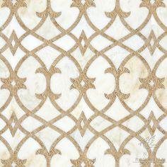 beautiful natural stone mosaic // Miraflores Collection by Paul Schatz for New Ravenna Mosaics