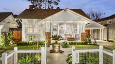 Dea and Darren Jolly have pocketed a hefty windfall from the sale of their Kew East knockdown rebuild — with the controversial project fetching just shy of the suburb record at auction. Weatherboard House, Investment Property, My House, Gazebo, House Plans, Coastal, Home Improvement, New Homes, Auction