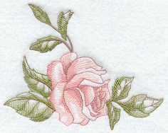 Machine Embroidery Designs at Embroidery Library! - Victorian Rose ...