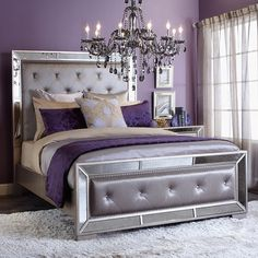 How to work the Lilac and Grey colour scheme into your home   Gray ...