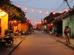 Hoi An, Vietnam is located in central Vietnam and is next to South China Sea. Hence, if you visit Hoi An, you can spend some days wander in China without spending money on transportation; only take 30-minute bicycle ride, you can reach there.