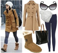 Outfits with Leggings and Boots | How to wear Ugg boots – The best fashionistas way to wear Ugg boots