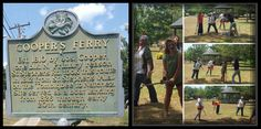 Zombies playing croquet in coopers ferry park. Monticello, MS. Gishwhes 2015