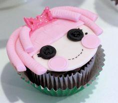 Lalalopsy Cupcake