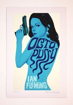 Bond Girl Posters By Michael Gillette