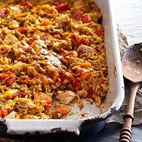 Tex-Mex Chicken 'n' Rice Casserole