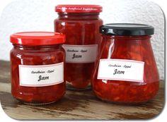 Aardbeien-appel jam (Strawberry Apple Jam recipe)