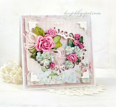 Wild Orchid Crafts: Pastel card
