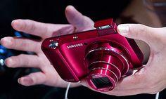 Samsung Galaxy Camera RED