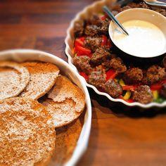 Yoghurt Kebab - Godt med hvidløg