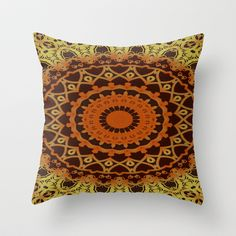Morocco Throw Pillow by Kimberly McGuiness - $20.00