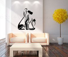 Animals all mixed up wall decal vinyl decal wall by ValdonImages