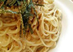 Addictive Natto and Tuna Pasta