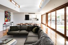 sofa bed home furniture dining table bedroom sets dining table set living room decor sectional living room decor ideas furniture design sofa table furniture shops Furniture Dining Table, Living Room Furniture, Home Furniture, Living Room Decor, Furniture Design, Inglewood House, Sofa Design, Interior Design, Sofa Bed Home