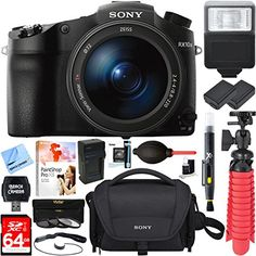 SONY AUTHORIZED DEALER – Includes Full SONY USA WARRANTY Sony DSC-RX10M III Cyber-shot 4K Video 20.1MP Super Zoom Digital Camera CAMERA INCLUDES: Rechargeable Battery Pack NP-FW50 – AC Adapter AC-UUD12