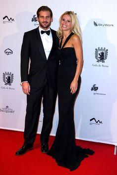 Michelle Hunziker in Roberto Cavalli al Gala di Berna per i 50 anni dei film di James Bond